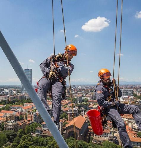 Услуги промышленного альпинизма в Новосибирске