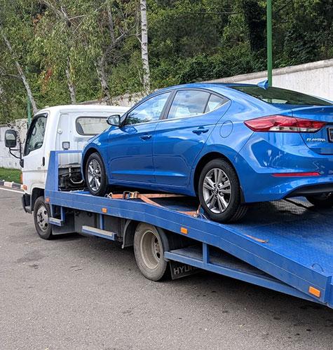 Транспортировка легковых авто в Новосибирске