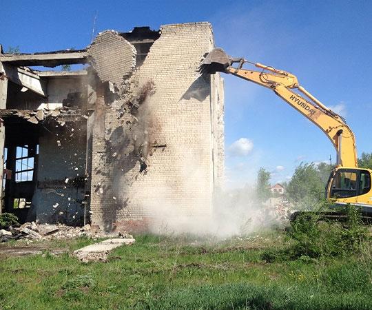 Демонтаж зданий в Новосибирске и Новосибирской области